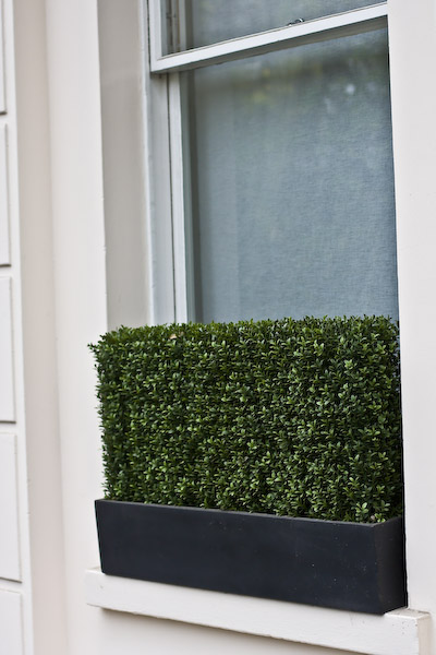 Why choose artificial hedges instead of the live plants?
