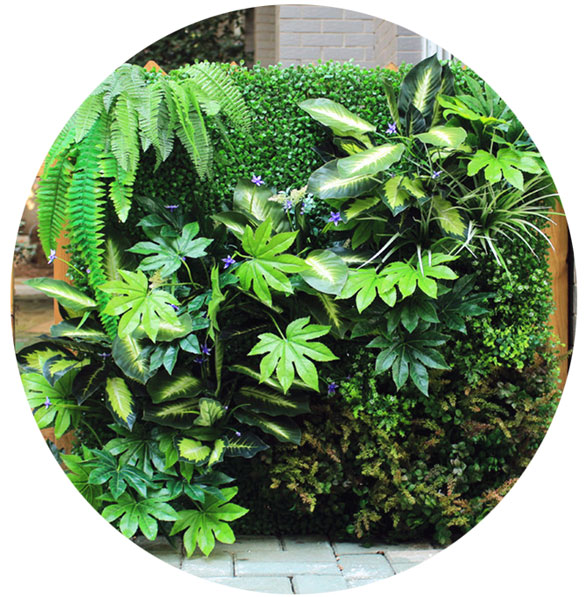 Spruce up Your Place with Artificial Hedges