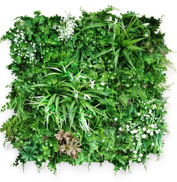 How to create artificial green wall