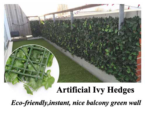Latest new residential decor, artificial hedge take it!