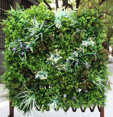 Styling Business Place With Artificial vertical garden