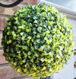 Artificial topiary ball is a charming addition to home decor!