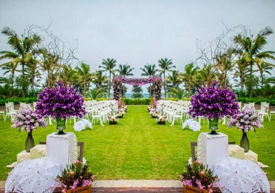 Artificial plants for your custom-made dream wedding!