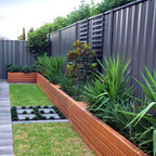 Artificial Plants Bring Nature Beauty And Privacy To Backyard