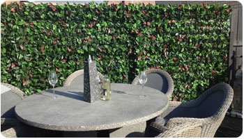 PROJECTS-artificial hedges for space divider